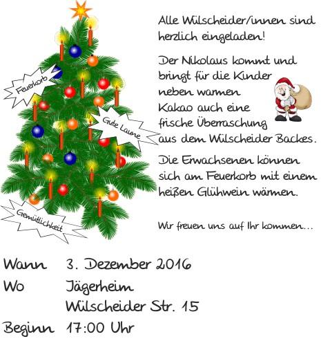 Wülscheider Adventsfeier 2016