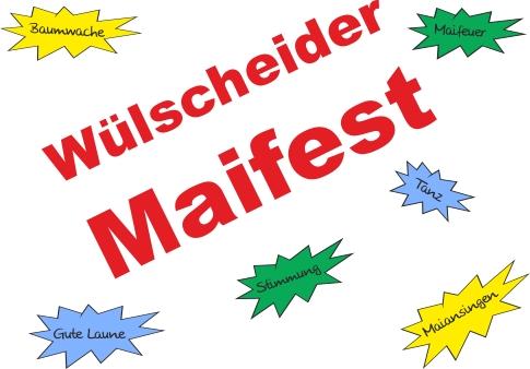 Wülscheider Maifest